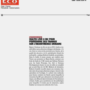 Eco des Savoie, June 2016